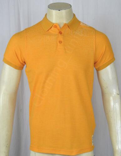 Mens Crosshatch /'Fadelast/' Short Sleeved Cotton Printed Pique Polo T Shirt