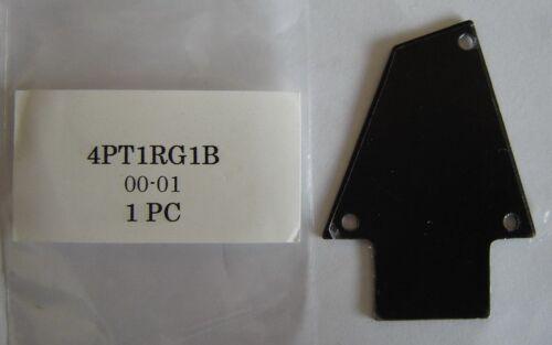 Ibanez Black Plastic TRUSS ROD COVER fits Steve Vai RG 550 JEM Prestige