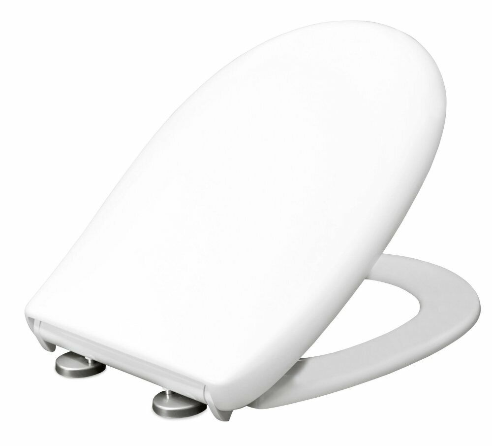 Bemis Classic Push and Clean Weiß Toilet Seat