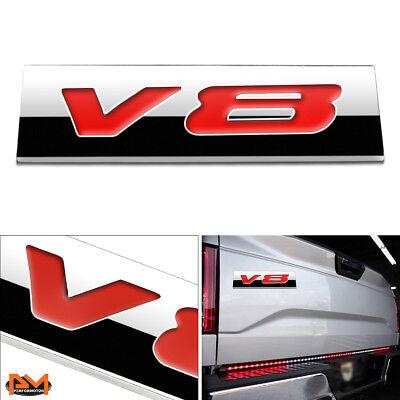 """/""""2.7L/"""" Polished Metal 3D Decal Blue Emblem For Dodge//Lincoln//Toyota//Porsche"""