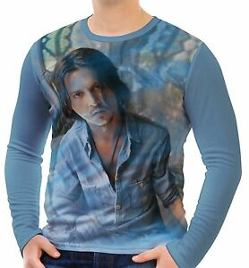 Johnny Depp Mens T-Shirt Tee Size S M L XL 2XL 3XL New