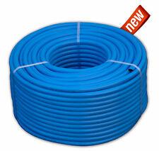 Druckluftschlauch 6 mm x 2,5mm 50m blau flexibel Luftschlauch Gewebeschlauch neu