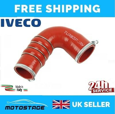 IVECO DAILY UNIJET 2.3 3.0 JTD HPI Turbo Intercooler Hose Pipe Made in Italy