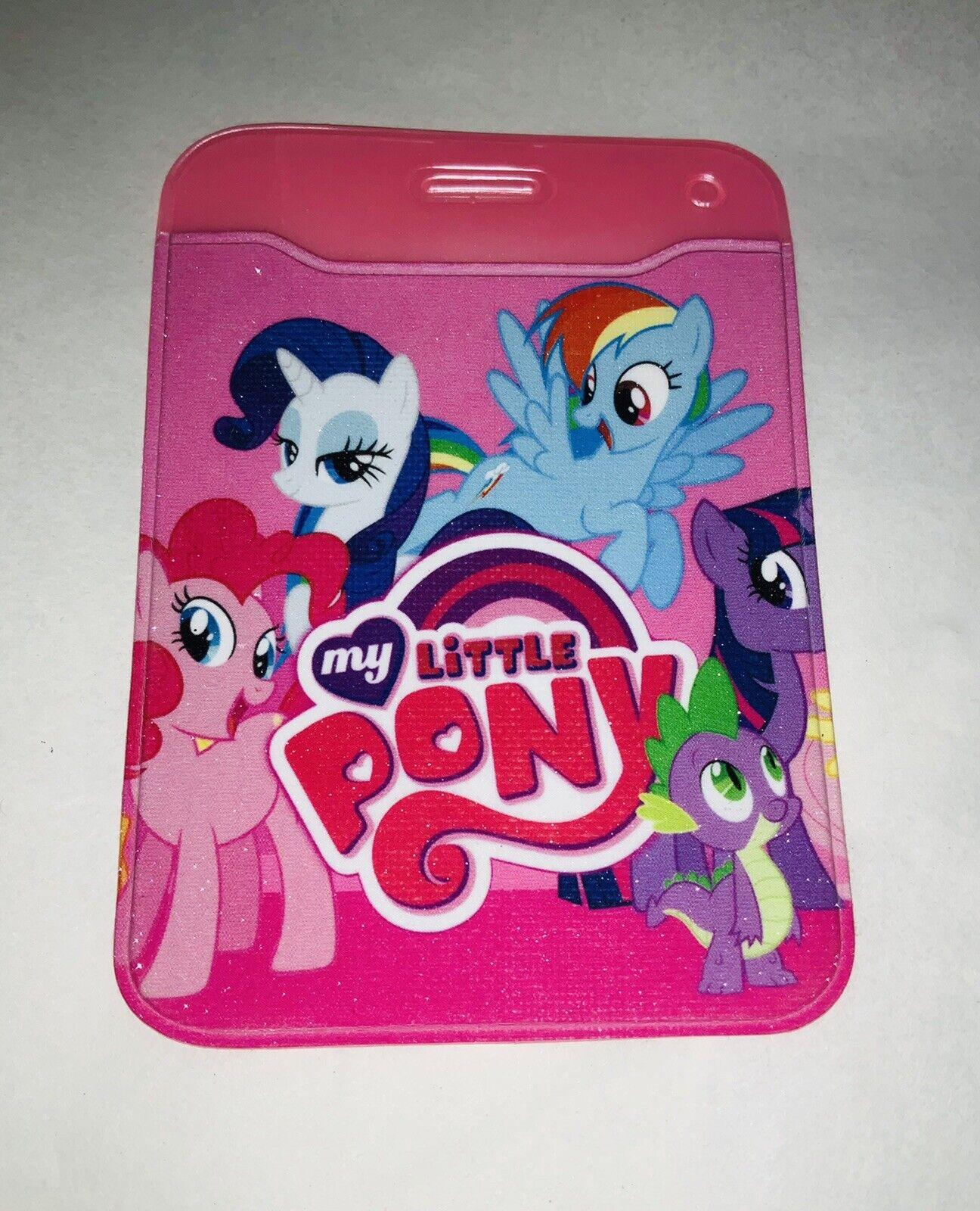 Mi Pequeño Pony Plástico ID Card Badge paso titular