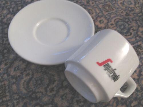 SEGAFREDO ZANETTI  mittlere TASSE 7 cm hoch+Durchmesser,Weiß,Henkelb.o.Teller