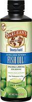 Omega Swirl Fish Oil High Potency Key Lime Barlean's 8 Oz Liquid