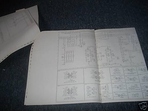 1980 FORD F600 F700 F800 F-600 F-800 CAB BIG TRUCKS WIRING DIAGRAMS MANUAL SET