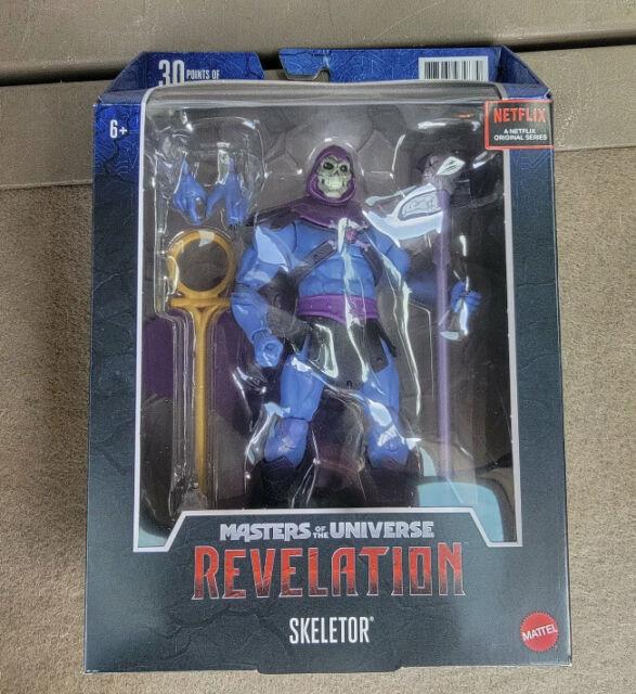 Masters of the Universe Masterverse Skeletor Motu Revelation New