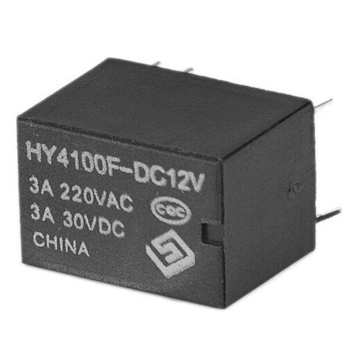 10pcs Mini Elektronisches Leistungsrelais Dc12v