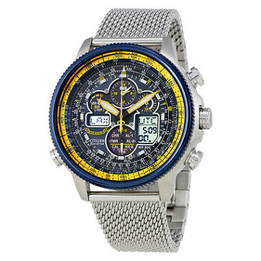 Citizen Navihawk A-T Chronograph Perpetual Mens Watch