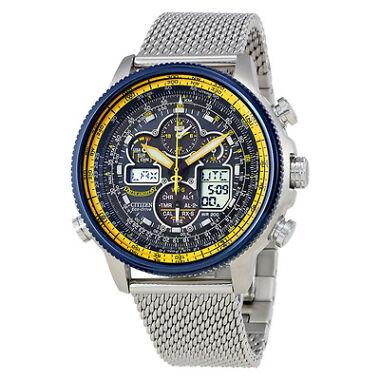Citizen Navihawk A-T Chronograph Perpetual Mens Watch