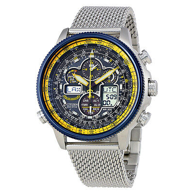 Citizen Navihawk A-T Chronograph Perpetual Mens Watch JY8031-56L