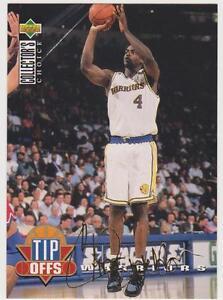 Carte-Basket-NBA-Upper-Deck-1994-Tip-Offs-signature-OR-Chris-Webber