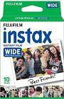 Fujifilm Instax WIDE Film Pack Cartridge for 300 Fuji Instant Camera - 10 shots