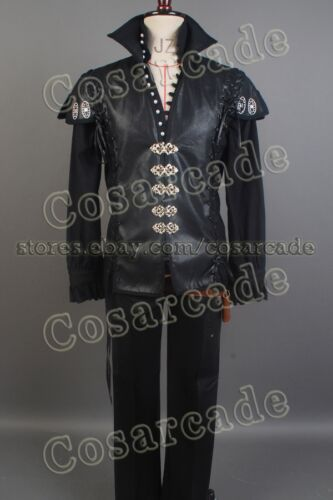 Once Upon A Time Captain Hook Killian Jones Outfit Cosplay Costume Attire Suit
