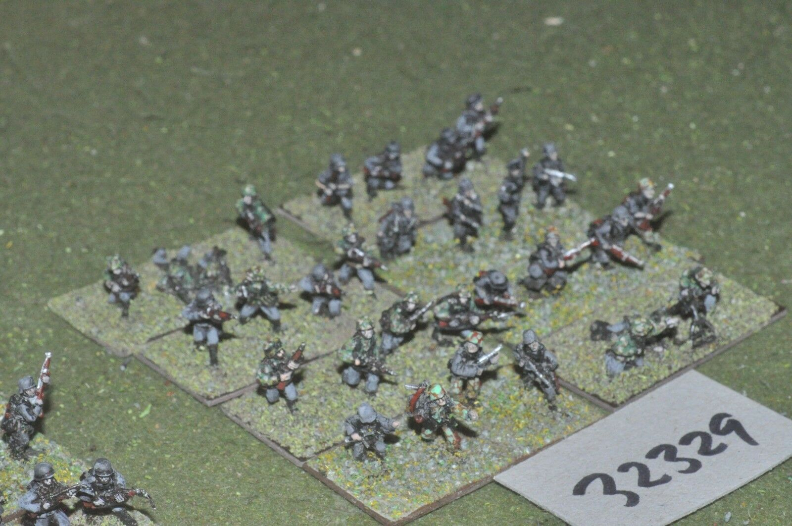 15mm WW2   german - section 30 figures - inf (32329)