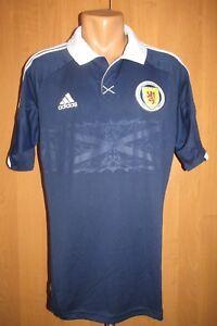 new concept f5378 3e204 La foto se está cargando Escocia-2012-2013-2014-Hogar-Camiseta-De-Futbol-