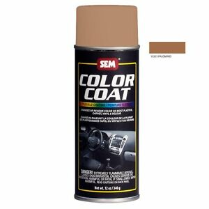 sem color coat system 15323 palomino aerosol vinyl spray paint 12oz can ebay. Black Bedroom Furniture Sets. Home Design Ideas