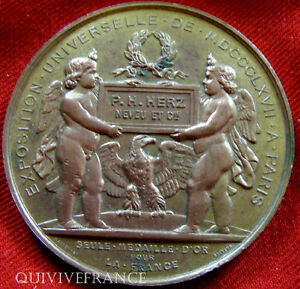MED2546-MEDAILLE-EXPO-UNIVERSELLE-1867-par-MASSONNET-FRENCH-MEDAL