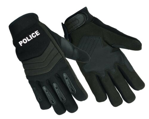 Sheriff Safety Glove with Kevlar NEW Men/'s Breathable No Sweat Knit Police