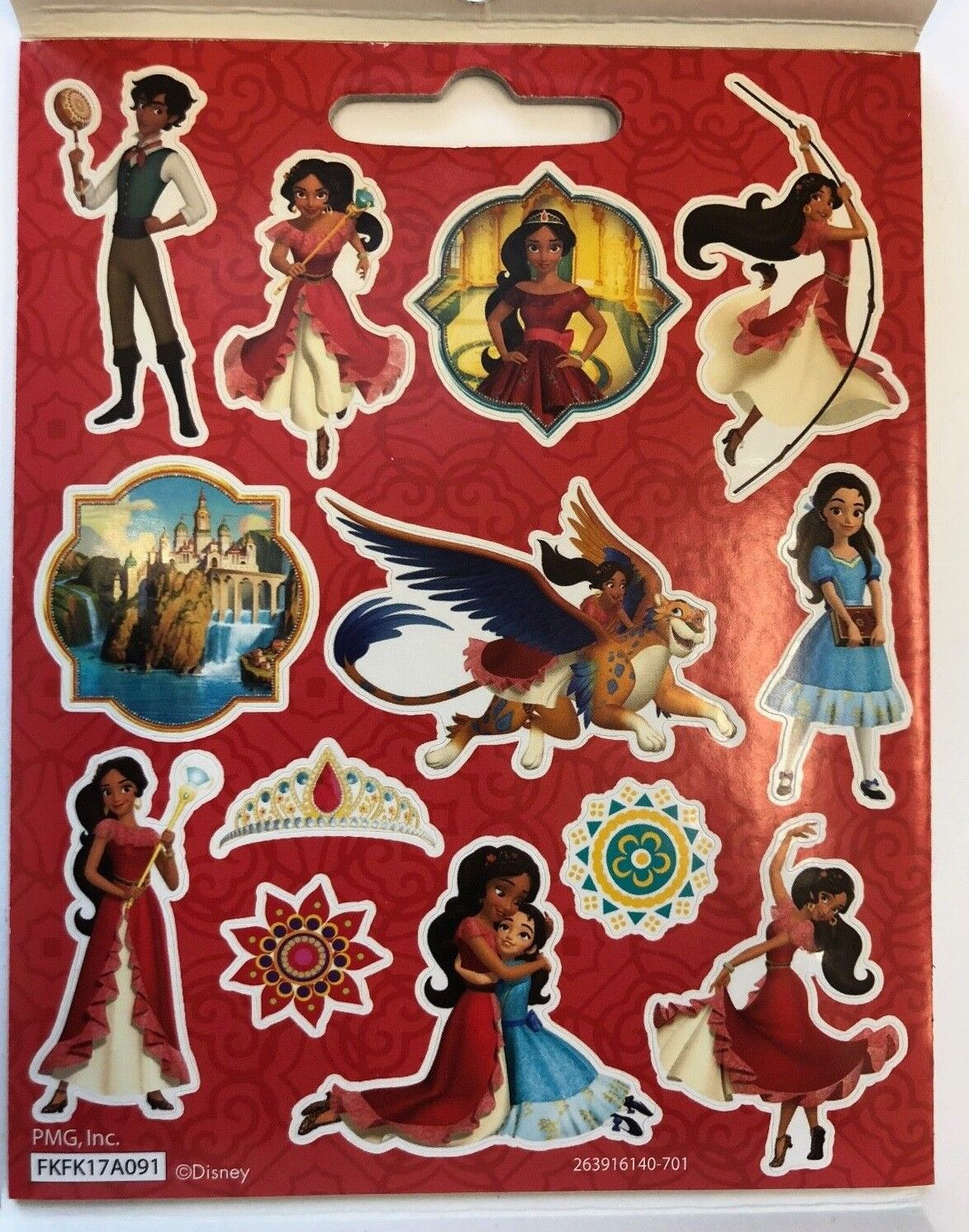 Disney Elena Of Avalor Sticker Book 111 Stickers Ship Ebay