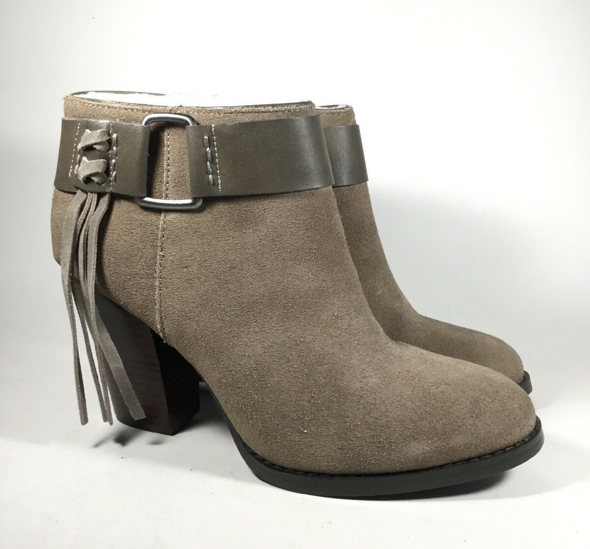 M3853 New Women's Kensie Massey Taupe Ankle Bootie US 8.5 M