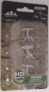 SMALL ROUND TABLES Deep Cuts Pathfinder Battles Primed & Unpainted Miniatures