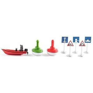 Accessories Waterway - Siku Waterways World 5592 New Sikuworld Boat Boyen Ship