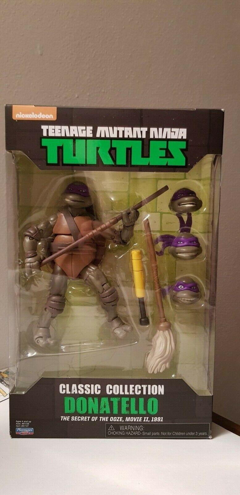 Teenage Mutant Ninja Turtles DONATELLO TMNT Classic Collection Secret of Ooze