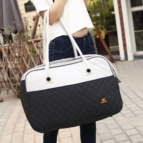 Cute Pet Travel Shoulder Bag Dog Cat Handbag Carrier Puppy Kennel Portable Tote