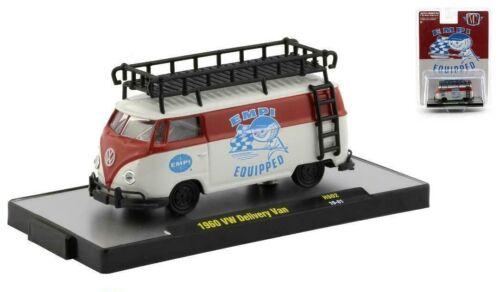 1960 VW Delivery Van Bus  EMPI Volkswagen*** M2 Machines Hobby Promo 1:64 NEU
