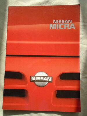 Nissan Micra Range Brochure Feb 1992 Esthetisch Uiterlijk