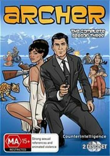 1 of 1 - ARCHER SEASON 3 : NEW DVD