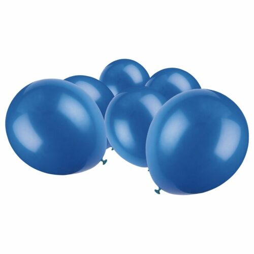 Blue Colour Latex Balloons helium//air quality for birthday wedding party baloons