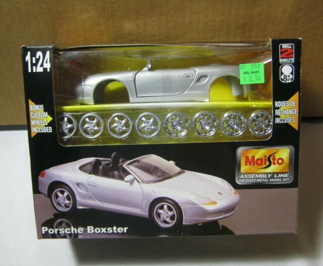 Porsche Boxster Maisto 1 24 Model Die Cast Metal Kit Ebay