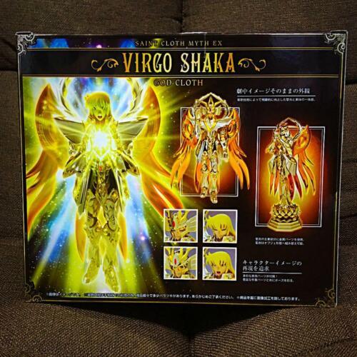 Bandai Saint Seiya Soul of Gold Myth Cloth Ex God Cloth Virgo Shaka Virgin New