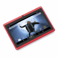 """7"""" A33 Android 4.4 KitKat KidsTablet PC 4GB Quad Core Tablet For Kids WIFI Red"""