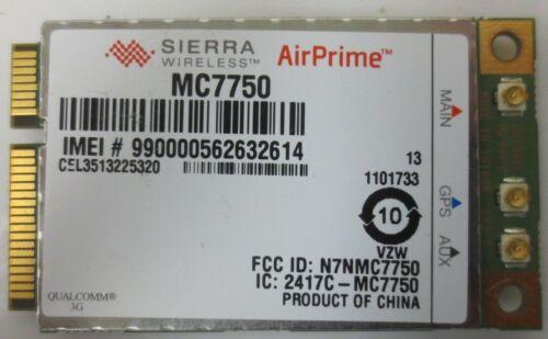 **USED** MC7750 Verizon 4G LTE Sierra  Wireless WWAN PCIE