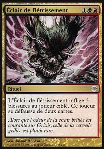 Blightning ALA ECLATS #156 FRENCH Magic ▼▲▼ Éclair de flétrissement