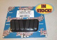 Lokar Midnight Black 1955-57 Chevy Power Brake Pad For Automatic - Xbag-6078