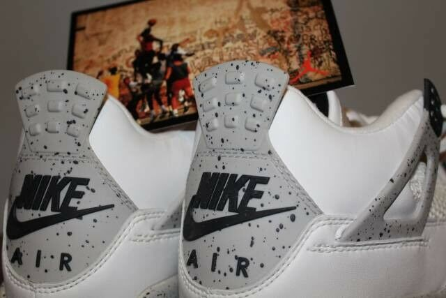 Brand New DS 1999 NIKE AIR JORDAN 4 IV WHITE CEMENT SIZE 11.5 OG Retro Vintage