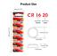 CR1620-3V-Lithium-Coin-Button-Cell-Battery-2-x-Panasonic thumbnail 3