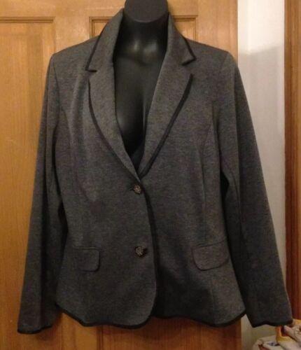 Giacca grigio giacca taglia Marisota 16 scuro stile rPrqwx7