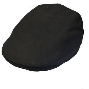 G   H Kids Black Wool Peaky Blinders Style Flat Cap Hat  7f747dfbc14