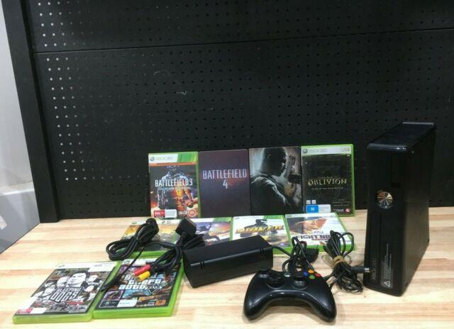 Microsoft Xbox 360 S 250GB Gloss Black Home Console