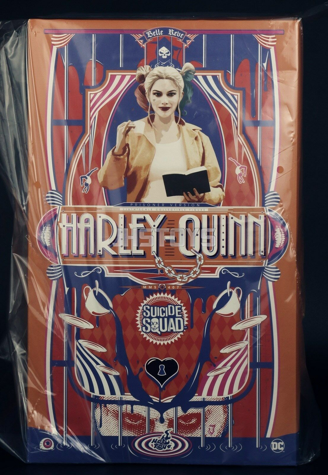 Hot Toys 1 6 Suicide Squad Harley Quinn Prisonnier version MMS407