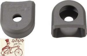 RACE FACE LARGE GRAY BICYCLE CRANK BOOTS---2 IN A PACK