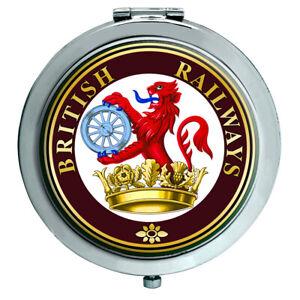 Britisch Railways Frettchen & Dartscheibe Crest Kompakter Spiegel
