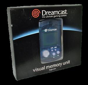Boxed-Genuine-Blue-Sega-Dreamcast-VMU-Memory-Card-Official-Brand-New