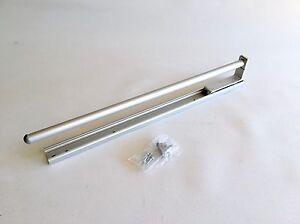 Details zu Handtuchhalter Alu 1-fach 1-armig ausziehbar 465 mm mit  Rollenführung Küche Bad